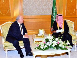 Deputy Crown Prince receives U.S. Ambassador to the Kingdom Westphal Joseph