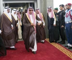 Crown Prince Salman Arrives in Rafha-border