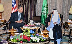 Obama King Abdullah US-Saudi 2