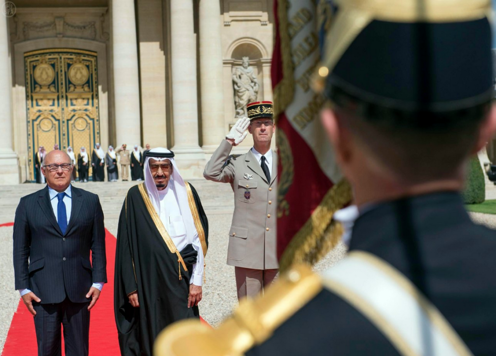 Crown Prince Salman in France
