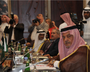 Prince Saud al Faisal, Minister of Foreign Affairs.