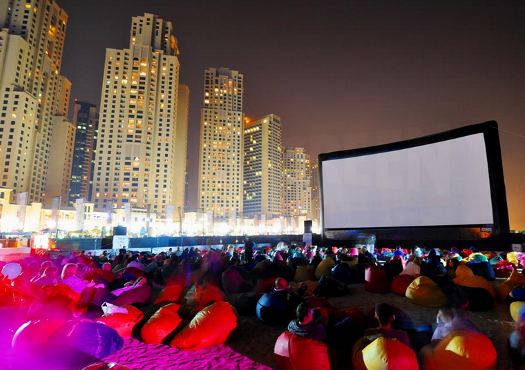 The 2010 Film Festival in Dubai.