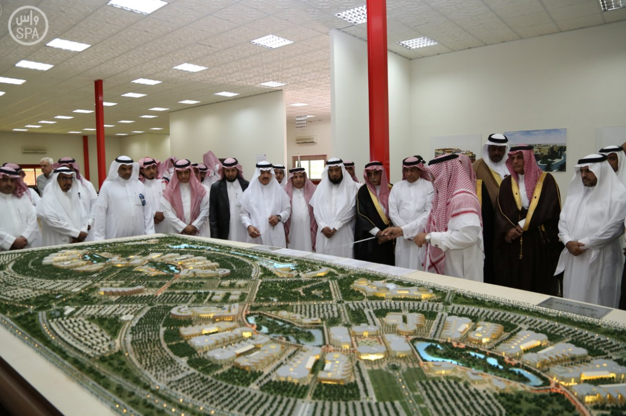 A delegation of members of the Shura Council to visit the University of Al-Jawf