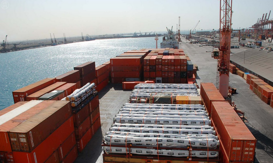 Saudi ports accommodate about 532 million tonnes per annum - ports transporation shipping