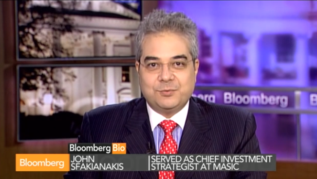 Sfakianakis on Bloomberg TV