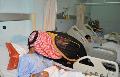 A time to heal: Saudi officials visit wounded from the Al-Ahsa Terror Strike