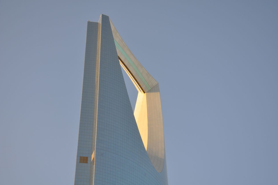 Saudi Kingdom Tower Top Economy Riyadh