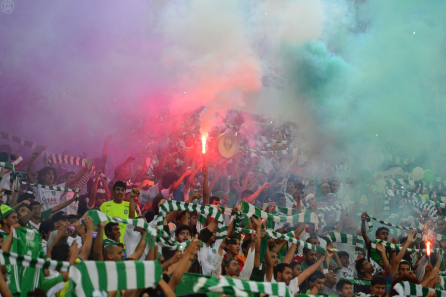soccer-fans-celebrate-smoke
