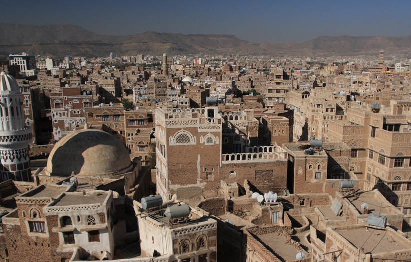 Sanaa, Yemen's Capital.