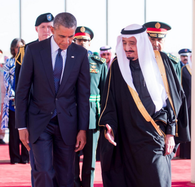 President Obama and HRH King Salman.