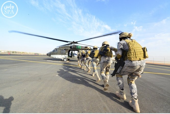 Saudi Arabia's military spending is up 14% in 2014.