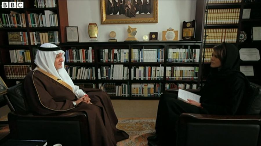 Prince Turki- BBC Interview