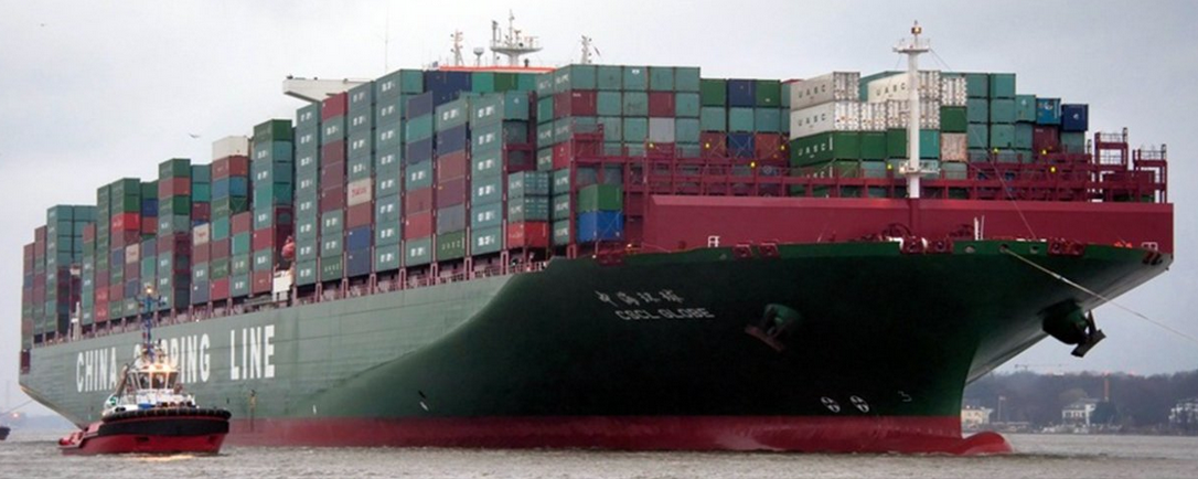 Photo: World's Largest Container Ship Docks in Jeddah, Saudi