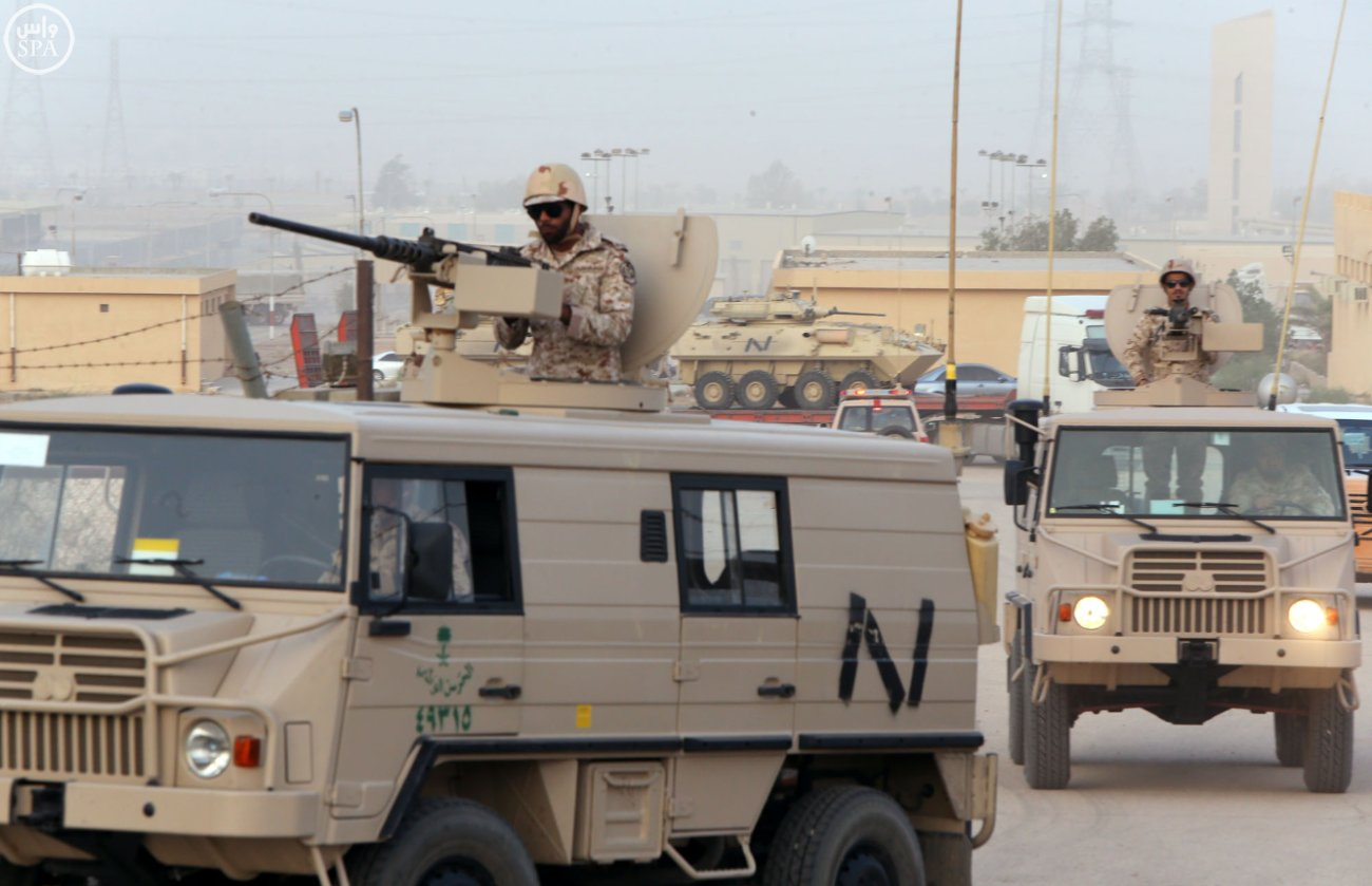 Saudi National Guard Troops Deploy to Najran Province on the