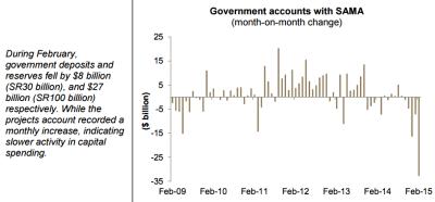 Saudi Government accounts
