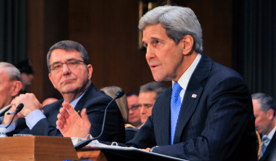 Secretary Kerry is visiting Gulf states this week as part of a wide-ranging diplomatic push in the region.