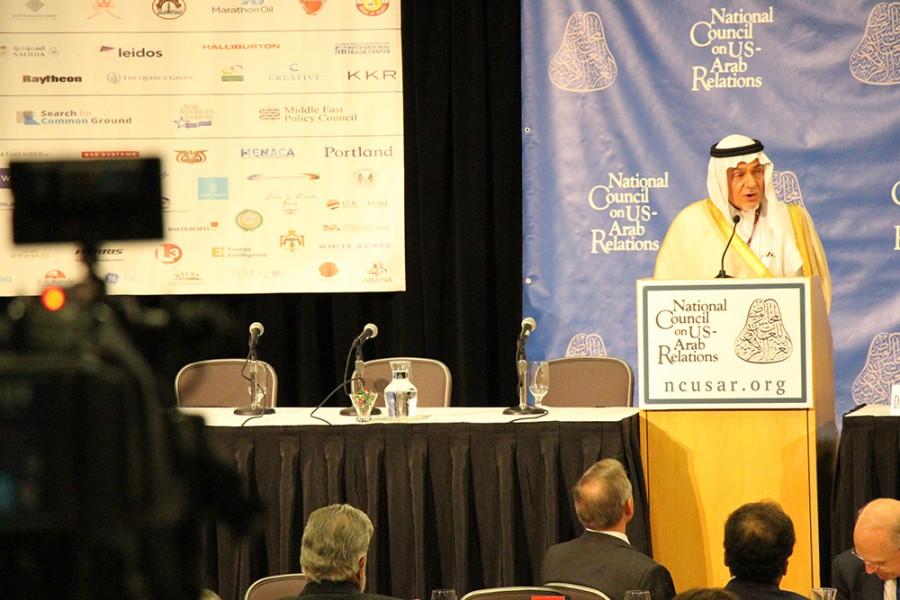 HRH Prince Turki al Faisal - SUSTG Photo by Lucien Zeigler