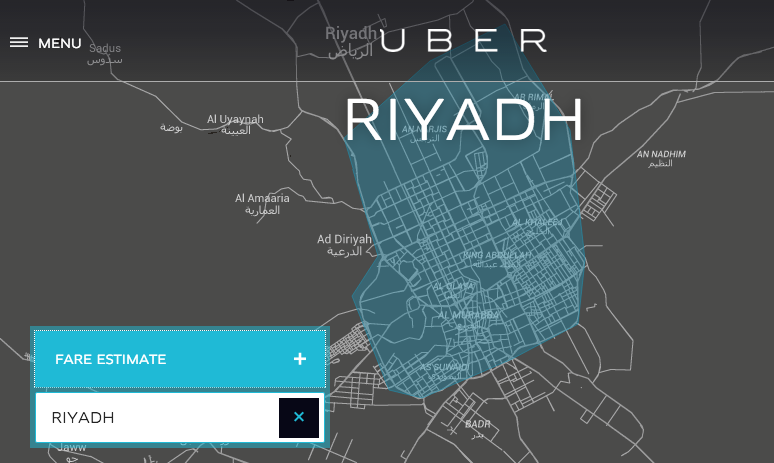 uber riyadh