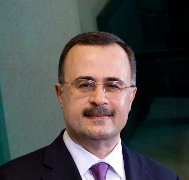 Amin H. Nasser, President and chief executive officer of the Saudi Arabian Oil Company (Saudi Aramco).