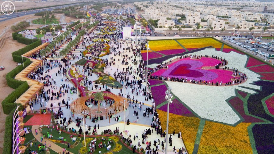 Flower Festivals in Saudi Arabia