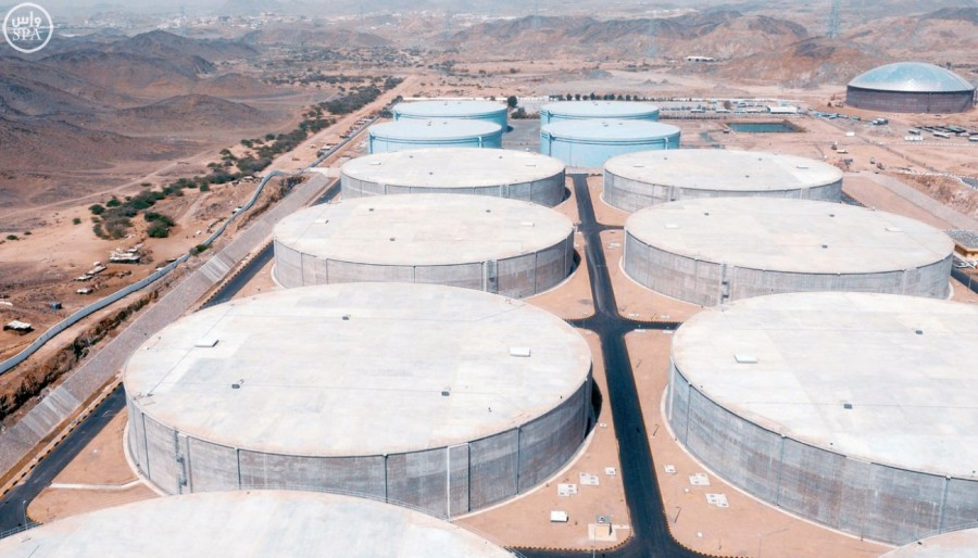 Saudi Arabia produces 18% of the world's desalinated water.