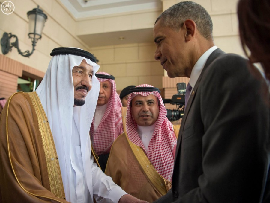 President Obama and King Salman met yesterday for a two hour discussion.