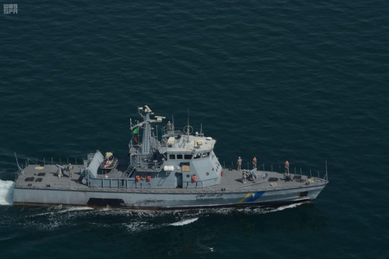 GCC joint exercise security saudi-border-guard-navy-boat