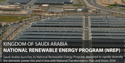 """[T]he cost of generating power from these renewable sources will be the lowest in the world,"" Khalid al-Falih said."