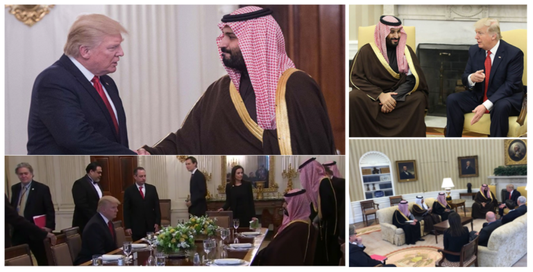 The meeting was viewed by both U.S. and Saudi officials as a success.