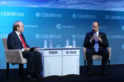 Khalid A. Al-Falih is Minister of Energy, Industry and Mineral Resources of Saudi Arabia and chairman of Saudi Aramco.