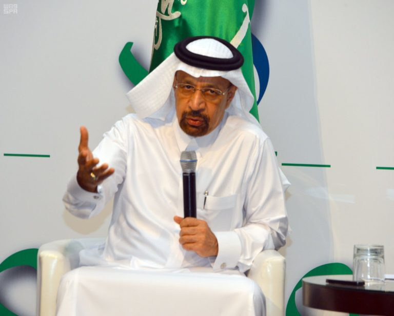 Khalid Al-Falih, Saudi Arabia's Minister of Energy, Industry, and Mineral Resources.