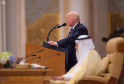 President Donald Trump made Saudi Arabia his first international visit as president.
