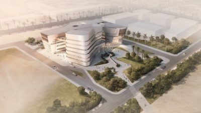 The forthcoming Global Business School in Jeddah, Saudi Arabia.
