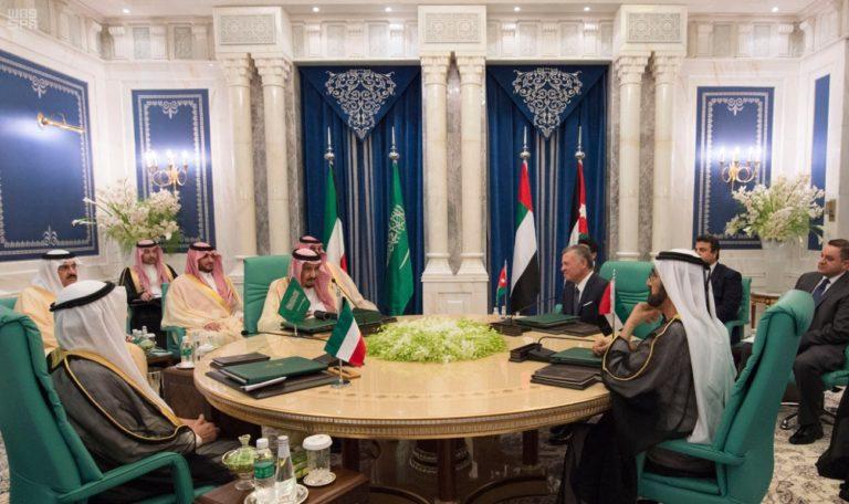 King Salman-Jordan-Diplomacy