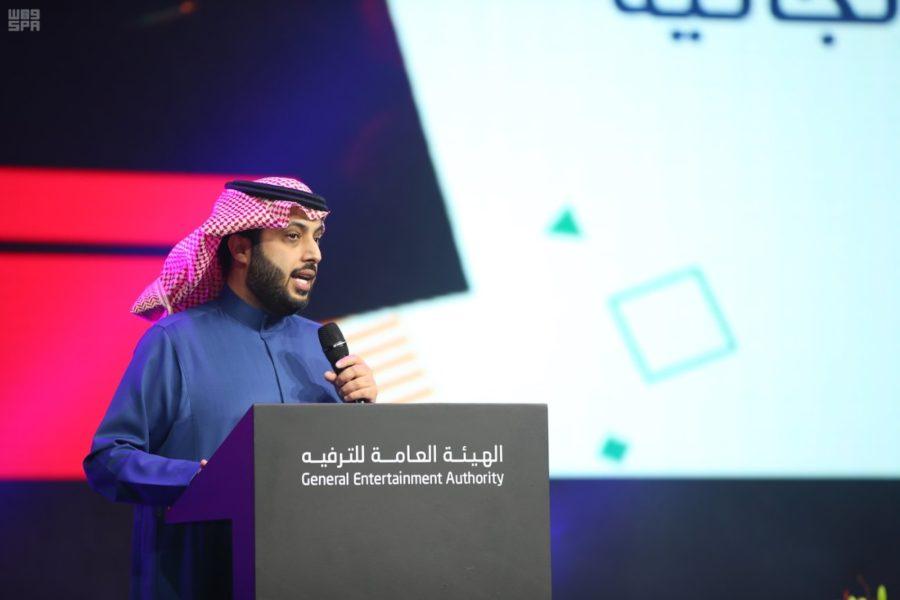 General Entertainment Authority's Turki al-Sheikh