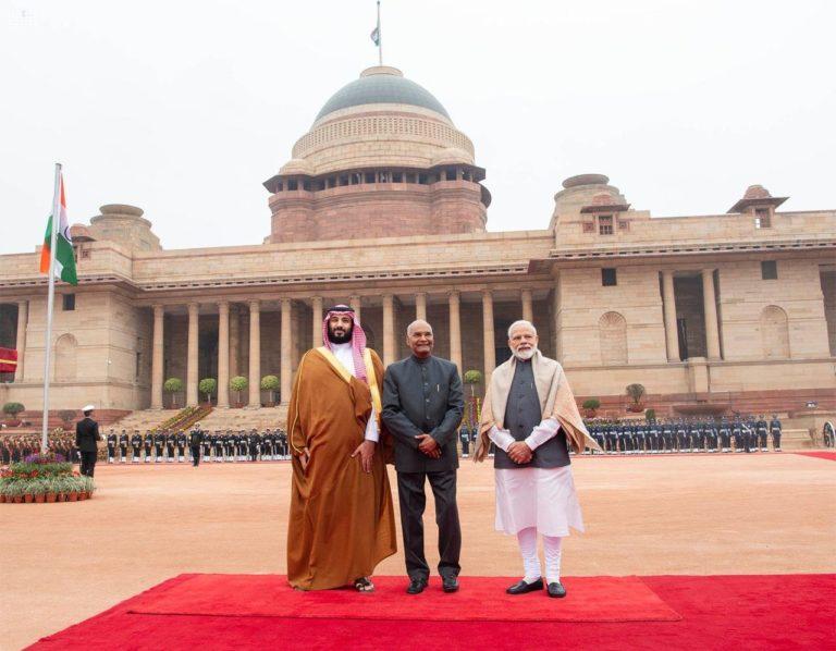 saudi-india-mbs-modi