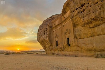 In the first of the wonders of Arabia, Aramcoexpats.com chose Madain Saleh, an archaeological site located in Al-Ula, in the Madinah Region in the Hejaz, Saudi Arabia.
