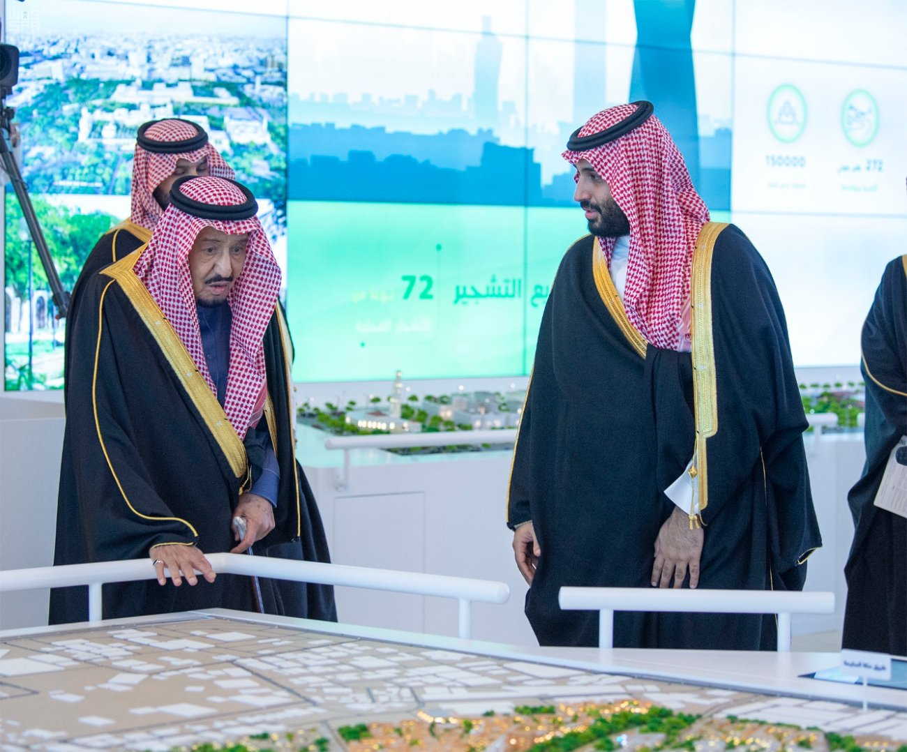 When completed, Riyadh's green coverage will increase from 1.5 percent of Riyadh's total area to 9.1 percent, according to Arab News.