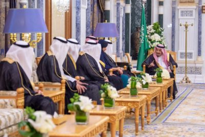 Princess Reema was sworn in alongside new Saudi Ambassadors to Austria, Cameroon, and Cyprus.