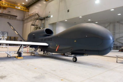 RQ-4 Global Hawk. (U.S. Air Force photos/TOMMIE HORTON)