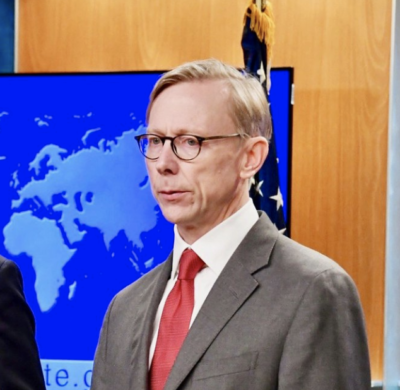 Brian Hook, U.S. Special Representative for Iran.