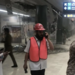 Photos on social media carried in Al Arabiya show some damage to the airport.