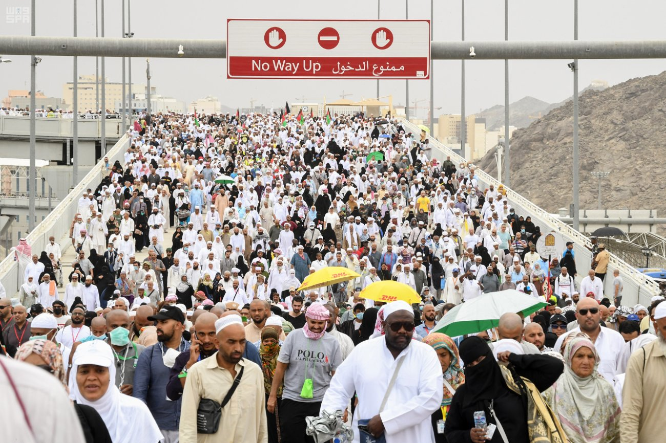 The 2019 Hajj saw over 2.5 million pilgrims.