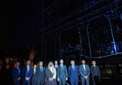 An exhibition on Saudi Arabia's Al-Ula was opened in Paris on Monday. (SPA)