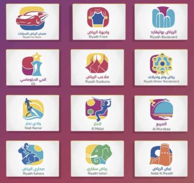 Riyadh Seasons Zones
