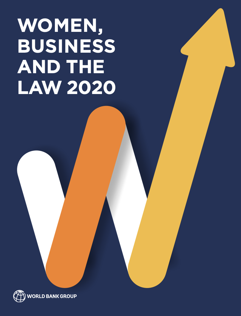 Women, Business and the Law 2020 analyzes laws and regulations affecting women's economic inclusion in 190 economies.