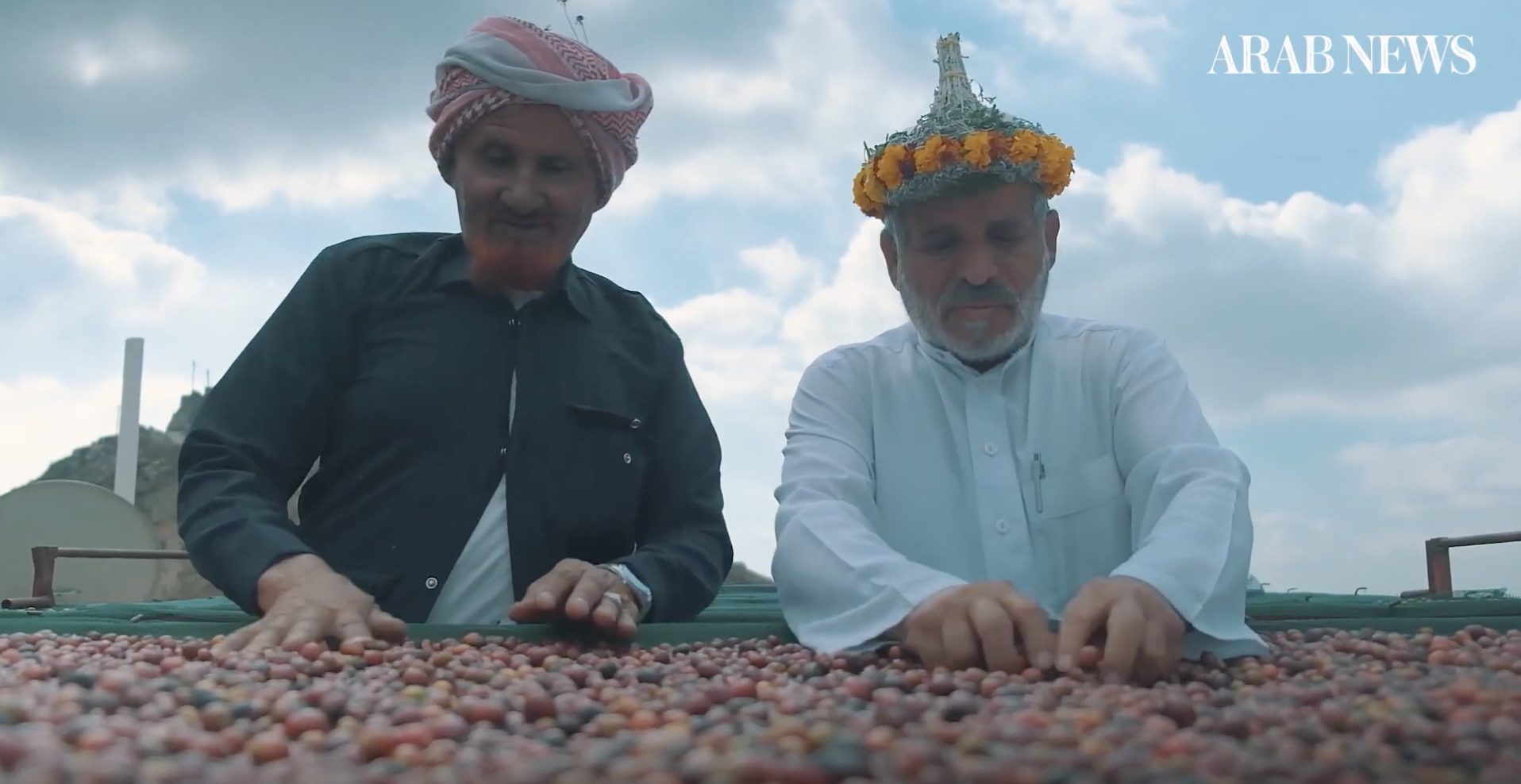 Coffee making in Saudi Arabia